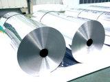 Feuille de papier aluminium pour l'application de condensateur
