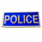 L'axe de la Police de promotion de haute qualité d'un insigne de l'épinglette Logo de l'étiquette