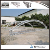 アルミニウム照明トラスによって曲げられる屋根のトラス段階のアーチの屋根のトラス