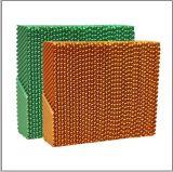 Las aves de corral de células de refrigeración Pad /honey comb almohadilla de refrigeración de la pared de refrigeración
