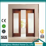Patio corredizas de vidrio puerta de madera francesa por habitación/Hotel/Proyecto
