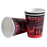 Café caliente taza de papel desechable con tapas