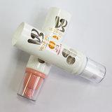 De Lege Kosmetische Duidelijke Ronde Verpakkende Buis zonder lucht van de Pomp