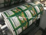 Impresora de Flexo de la bolsa de papel termal del papel de copia del rodillo de 4 colores