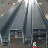 Лист Decking пола металла стальной структуры гальванизированный Corrugated