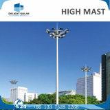 18m/20m/30m LEDの洪水の街灯柱のエレベーターシステム高いマストランプ