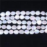 Monedas granos de la perla cultivada de agua dulce 12-13mm Calidad Tamaño AA