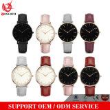 Signora calda Fashion Quartz Watches di Waches della manopola dell'uomo del cuoio genuino di moda Yxl-582