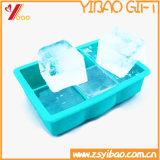 Molde do cubo de gelo do silicone das pilhas do costume 6/gelo