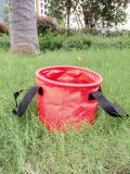 10L / 20L / 30L PVC Tarpaulin Outdoor Folding Bucket