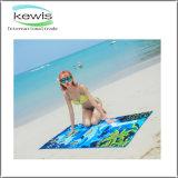 Toalha de praia de viagem personalizada de alta qualidade
