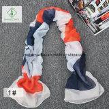2017 de Nieuwe Sjaal die van de Viscose van het Ontwerp de Kleur Afgedrukte Sjaal van de Manier verbindt