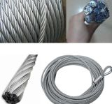 6 * 19FC Galvanized Lifting Steel Wire Rope