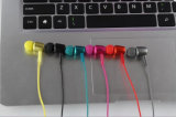 Fone de ouvido Bluetooth sem fio metálico inteligente para iPhone Samsung Smart Phone