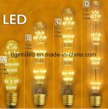 홈을%s 110V 220V 필라멘트 전구 g95 휴일 빛 크리스마스 장식이 LED 램프 e27 LED 전구 크리스마스 끈에 의하여 점화한다