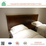 Переклейка с мебелью гостиницы твердой древесины твиновского комплекта спальни