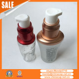 Emballage cosmétiques Couvercle en bouteille à vis métallique en aluminium
