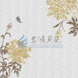Iridescent River Folha de molho de água doce Mãe de pérola Shell Mosaic Wall Tile Building Material