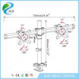 Canalisation verticale réglable de moniteur de bride d'émerillon de pouce 27 de Jeo 15 '' - '' et de bureau de la hauteur Ys-MP320gl de rotation