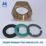 Guarnición de cobre amarillo de la conexión de tubo de la instalación de tuberías