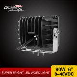 luz resistente de gran alcance del proyector LED de la salida de 90W 6inch
