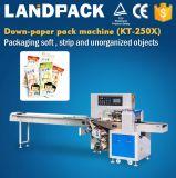 Máquina automática do bloco do fluxo/empacotamento/máquina do Popsicle/linha produção do Popsicle
