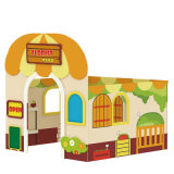 Kid Plya House Bank Tema Toy para venda