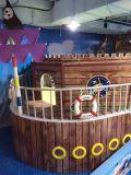 Structuur van de Speelplaats van de Kinderen van het Thema van het Schip van de piraat de Hete Verkopende Binnen (HS17401)