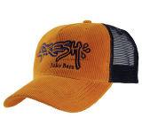 Il ricamo su ordinazione ricopre i berretti da baseball promozionali del ricamo della protezione di Snapback del cappello delle protezioni del cotone di Burshed