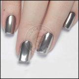 Nail cromado espejo efecto de espejo de polvo de pigmento de clavo de plata