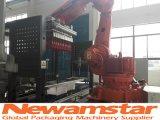 Robot Newamstar recouvrant la machine pour la ligne de production de boissons