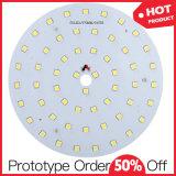 Placa pequena personalizada proeminente do diodo emissor de luz para a luz esperta