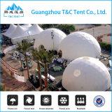 Huis het van uitstekende kwaliteit van de Koepel van de Glasvezel van het Frame van het Metaal, overkoepelt Geodetische Tent