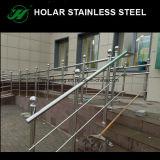 Postes de la escalera del acero inoxidable/del pasamano del balcón