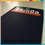Hsinda Ralカラーきらびやかな革絹の青い輝いた粉のコーティング