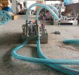 Llenador líquido eléctrico neumático de la máquina de rellenar de las pistas dobles/solas