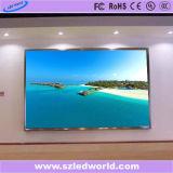 Écran de coulage sous pression polychrome de location d'intérieur de panneau de l'Afficheur LED P4.81 pour annoncer (CE, RoHS, FCC, ccc)