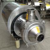 Pompe sanitaire d'amoricage d'individu d'acier inoxydable