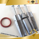 Prestressed клин инструмента Anchorage для стренги PC 12.7mm
