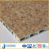 Comitati di alluminio del favo del grano della pietra di disegno di modo