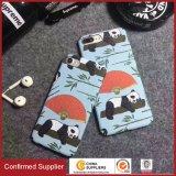 Nette Panda-Wasser-Übergangsdrucken-Telefon-Kästen für Samsung S8