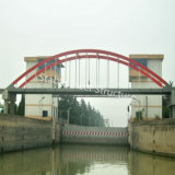 Puente de acero Fabricación con buena calidad