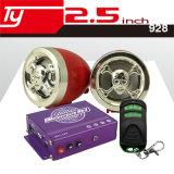 LEDを持つオートバイのオーディオ・アンプ2.5mワイヤー制御MP3プレーヤー
