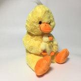 Pluche Mum van de Manier van de pluche de Gele en Stuk speelgoed van de Douane van de Baby het Zachte