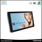 Tacto que hace publicidad de la señalización de interior de Digitaces de la visualización del LCD del quiosco
