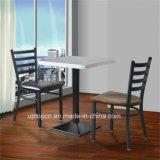 (SP-LC285)熱い販売の喫茶店の梯子の背部金属のレストランの椅子