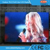 Placa de tela ao ar livre do diodo emissor de luz do arrendamento da cor cheia de P6.25 HD com FCC