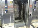 Печь подносов горячего воздуха 32 роторная с шкафом хлебопекарни