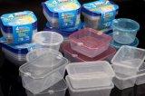 Recipiente de alimento resistente ao calor plástico descartável