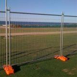 Geschweißter Stahlrohr-temporärer Zaun